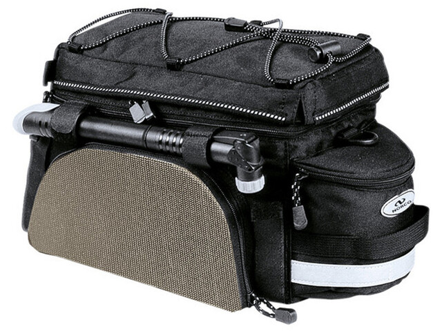 Norco Kansas Sac porte-bagages, black/silver